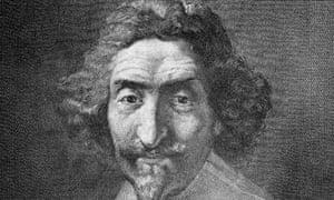 Spanish novelist Miguel De Cervantes