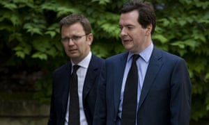 Andy Coulson and George Osborne