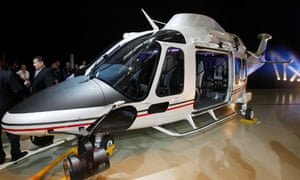AgustaWestland AW169 helicopter, Somerset