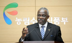 MDG : International Fund for Agricultural Development president Kanayo Nwanze