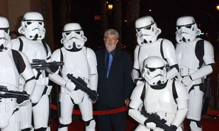 George Lucas, Star Wars stormtrooper helmets