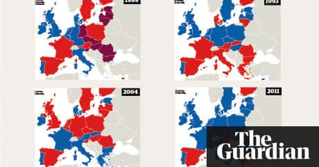 The changing political map of europe world news the guardian gumiabroncs Choice Image