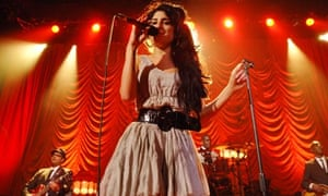 Amy Winehouse performing in London