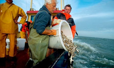 European Union fishing fleets have been forced to throw away 2.1 tonnes of cod
