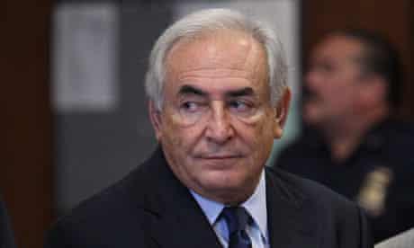 Dominique Strauss-Kahn in New York