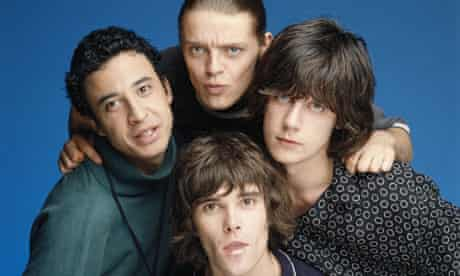 The Stone Roses Posed In London