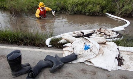Yellowstone river oil spill spreads