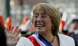 Michelle Bachelet, Chilean president