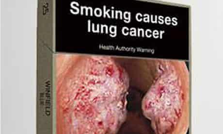 Proposed Australian cigarette packaging
