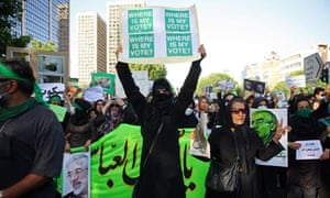 iran protest executions
