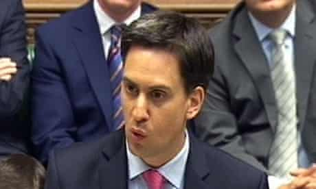 Ed Miliband Prime Minister's Questions