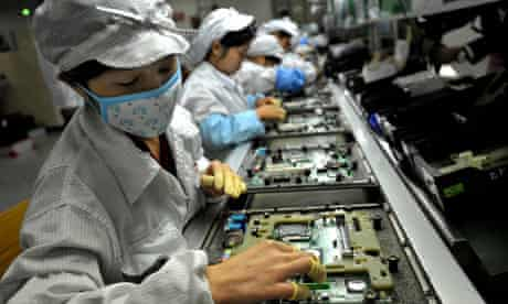 Foxconn factory, China