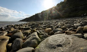 Lyme Regis in Dorset, part of the Jurassic Coast World Heritage Site