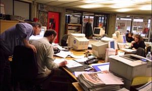 Apprentice: newsroom