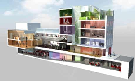Architect David Adjaye's vision for the Africa Centre in Covent Garden, London