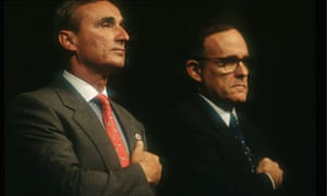 Bill Bratton and Rudolph Guiliani New York City 1995