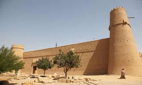 Old Masmak fort Riyadh Saudi Arabia. Image shot 2009. Exact date unknown.