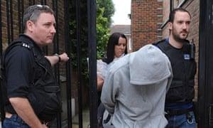 riot-police-arrest-looter