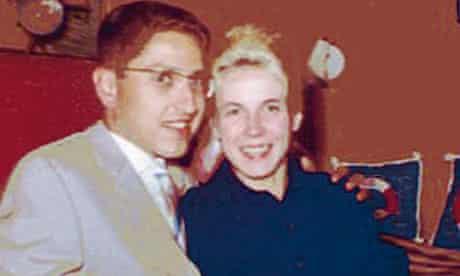 Leslie Collit and Ingrid in West Berlin