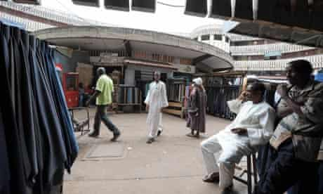 The main market in Yaounde