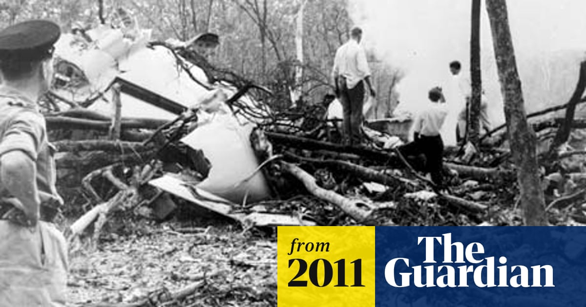 Dag Hammarskjöld: evidence suggests UN chief's plane was shot down