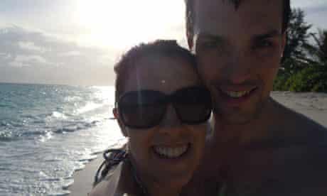 Ian Redmond and his wife Gemma Redmond