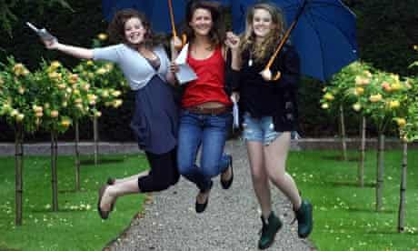Badminton school pupils celebrate A-level results