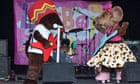 Rastamouse performing at the Lollibop Festival