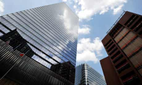 Building at 7 World Trade Center in New York where rating agency Moody's is located
