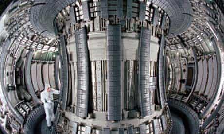 JET's fusion reactor
