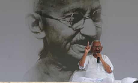 Anna Hazare hunger strike