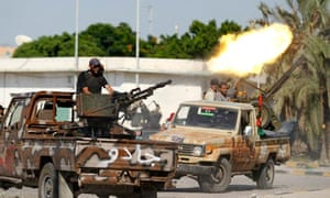 Libyan rebel fighter