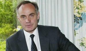 Justice minister Crispin Blunt