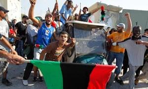 A golf buggy belonging to Muammar Gaddafi
