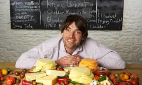 Alex James, bassist from Blur turned cheesemaker