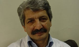 Abdolreza Soudbakhsh, an Iranian doctor who was killed after examining rape victims