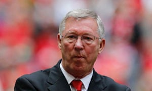 Manchester United manager Sir Alex Fergurson