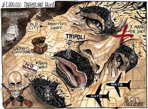 26.08.11: Ben Jennings on the hunt for Gaddafi