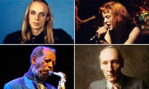 Brian Eno, Bikini Kill, William S Burroughs and Ornette Coleman