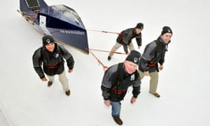 Old Pulteney crew in train for their Arctic expedition