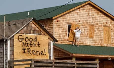 Hurricane Irene, North Carolina