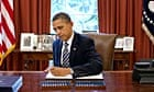 Barack Obama signs into law the bipartisan bill on debt.