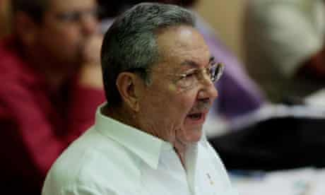 MDGF :  Cuba/Raul Castro delivers a speech during the closing ceremony of the National Assembly