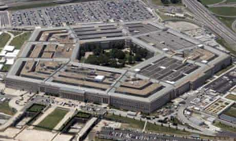 Pentagon Building in Washington