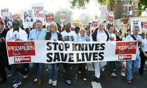 Knife crime and gang v...