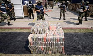 The drug trade in Mexico has left many police forces powerless due to corruption or intimidation.
