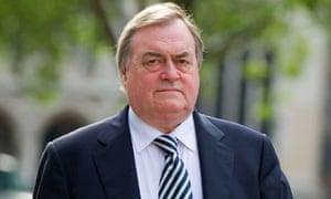 Lord Prescott attends Iraq war inquiry