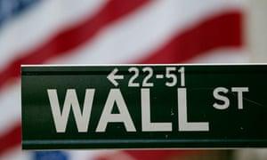 Wall Street sign New York Stock Exchange