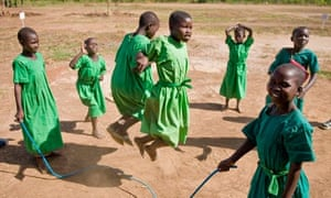 MDG : Amorikot primary school, Katine, Uganda