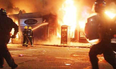 Rioting in Tottenham